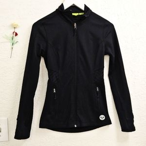 Roxy Fleece Lined Fitted Workout Jacket